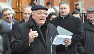 Bishop Nicholas DiMarzio - Catholic Migration Services