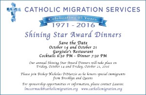 SAVE THE DATE! 45th Annual Shining Star Awards Dinner