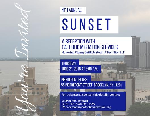 Sunset Invitation