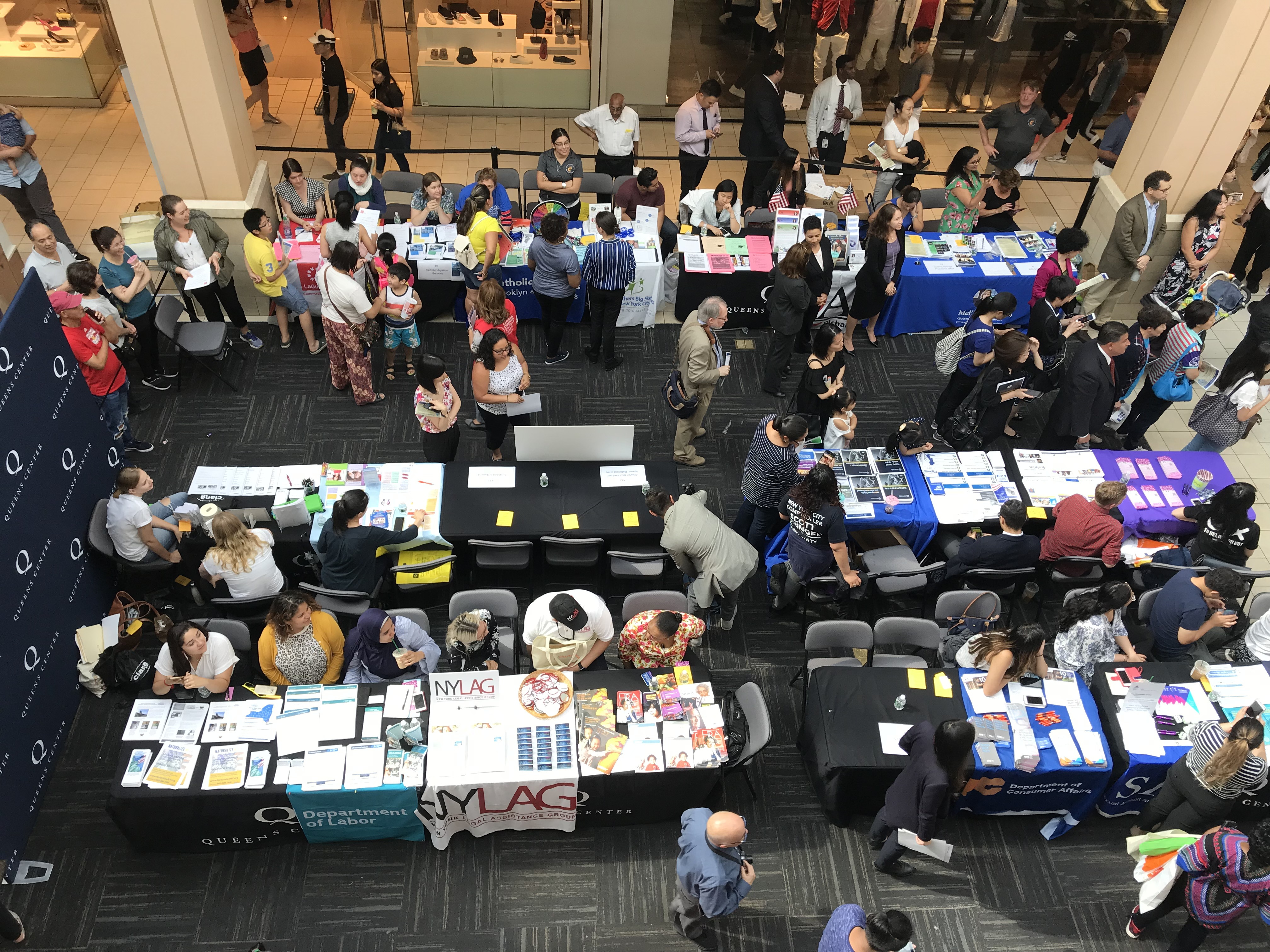 Queens Immigrants Attend Resource Fair and Legal Clinic